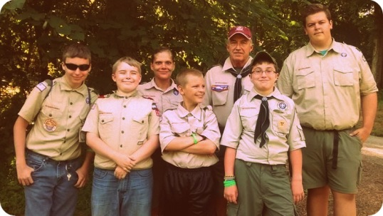 Camp Davy Crockett 2014 - Troop 107